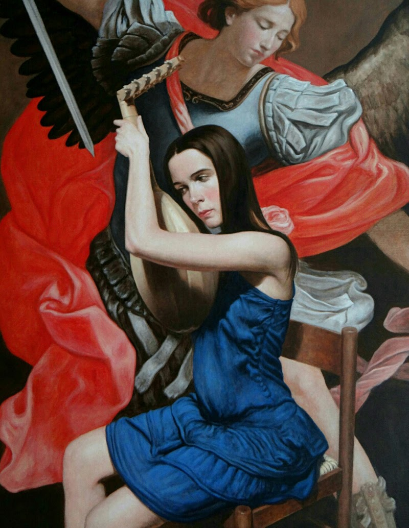 Paintings by Daniele Vezzani from Italy.