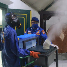 Ditpolair Polda DIY Sterilisasi Masjid dan Lingkungan Komplek Kraton