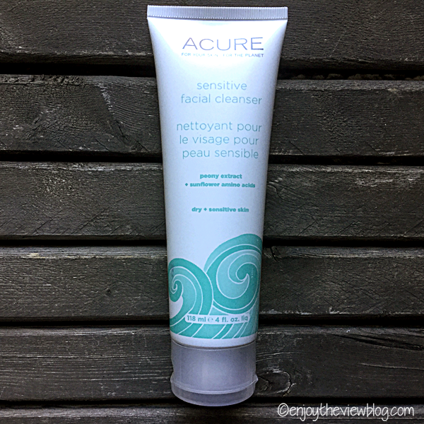 The Sensitive Cleanser from Acure