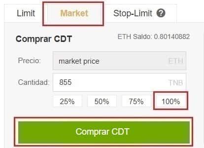 Comprar y Guardar Criptomoneda CoinDash (CDT) Guía Español