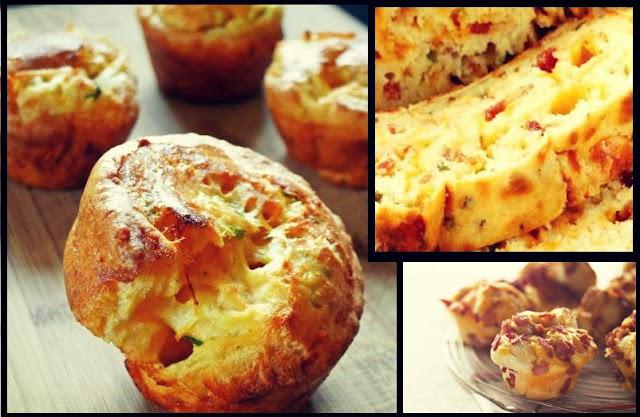 aa2c05d8dc7 Θέλεις κάτι διαφορετικό και εντυπωσιακό από συνηθισμένα τυροπιτάκια;  Δοκίμασε την παρακάτω σύνταγη για Αλμυρά muffins (κεκάκια).