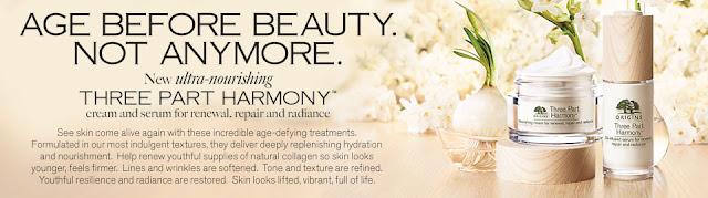 Origins Three Part Harmony Nourishing Cream & Serum, by Barbie's Beauty Bits