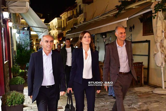 Στο Ναύπλιο η Έφη Αχτσιόγλου σε εκδηλωση του ΣΥΡΙΖΑ Αργολίδας (βίντεο)