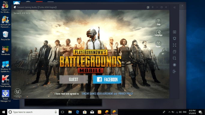 Tencent Gaming Buddy PUBG