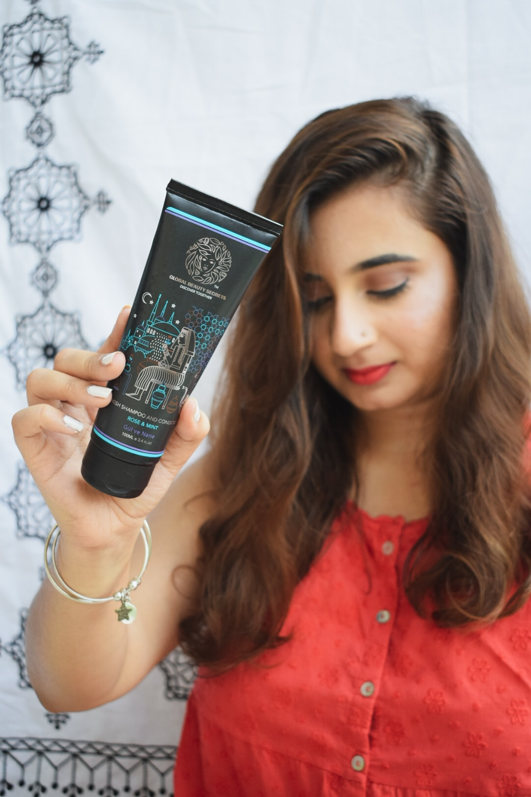 Global Beauty Secrets Turkish Rose and Mint Shampoo and Conditioner