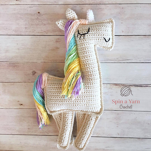 Amigurumi Unicornio Ragdoll