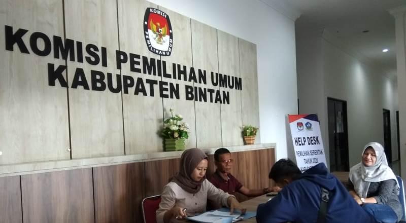 KPU Tetapkan DPT Pilkada Bintan 2020 Mencapai 110.379 Orang