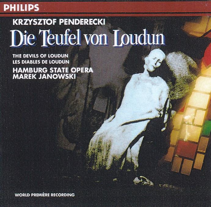 afina tus oidos: Penderecki Die Teufel von Loudun Janowski 1969