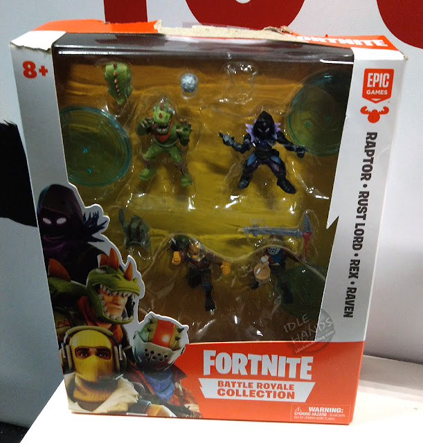 Toy Fair 2019 MOOSE Toys Fortnite Battle Royale Collection 4 figure pack