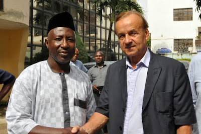 Gernot Rohr- I have a good feeling about this job, my focus is to ensure Super Eagles can beat any team