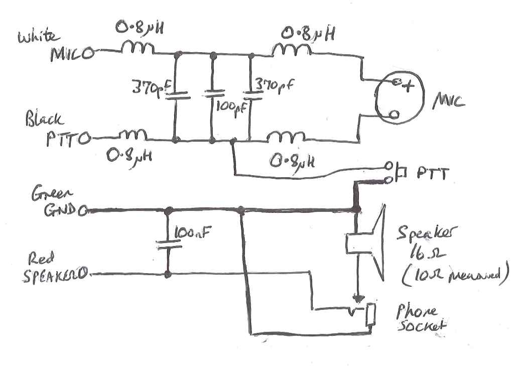 M0WYE's Blog: Microphone And Speaker Connections For TYT MD380