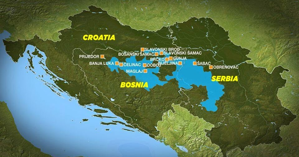 Parks Dinarides Floods In The Balkans Taking A Toll On People S