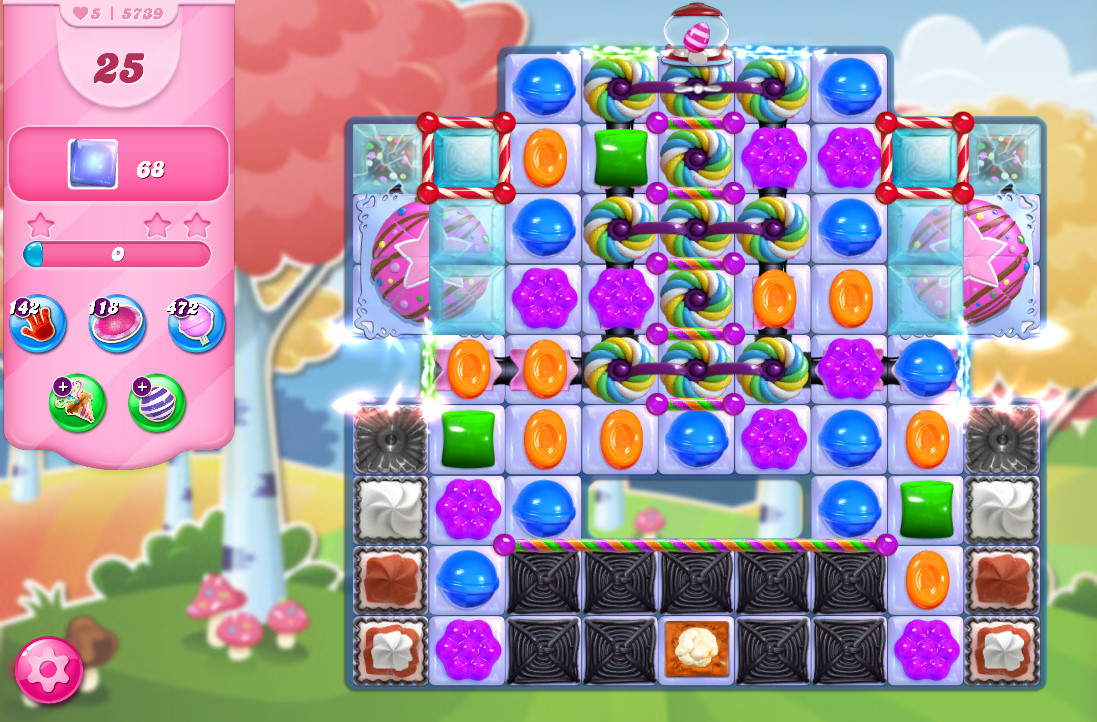 Candy Crush Saga level 5739