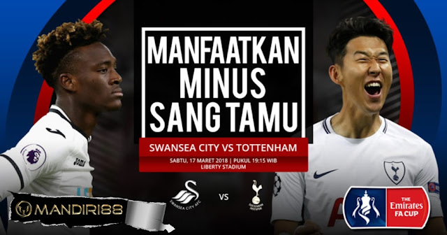 Prediksi Swansea City Vs Tottenham Hotspur, Sabtu 17 Maret 2018 Pukul 19.15 WIB