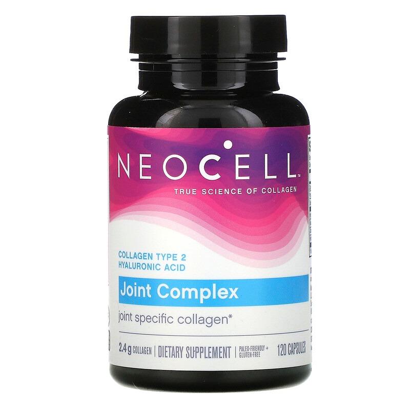Neocell, комплекс для суставов с коллагеном типа 2, 120 капсул