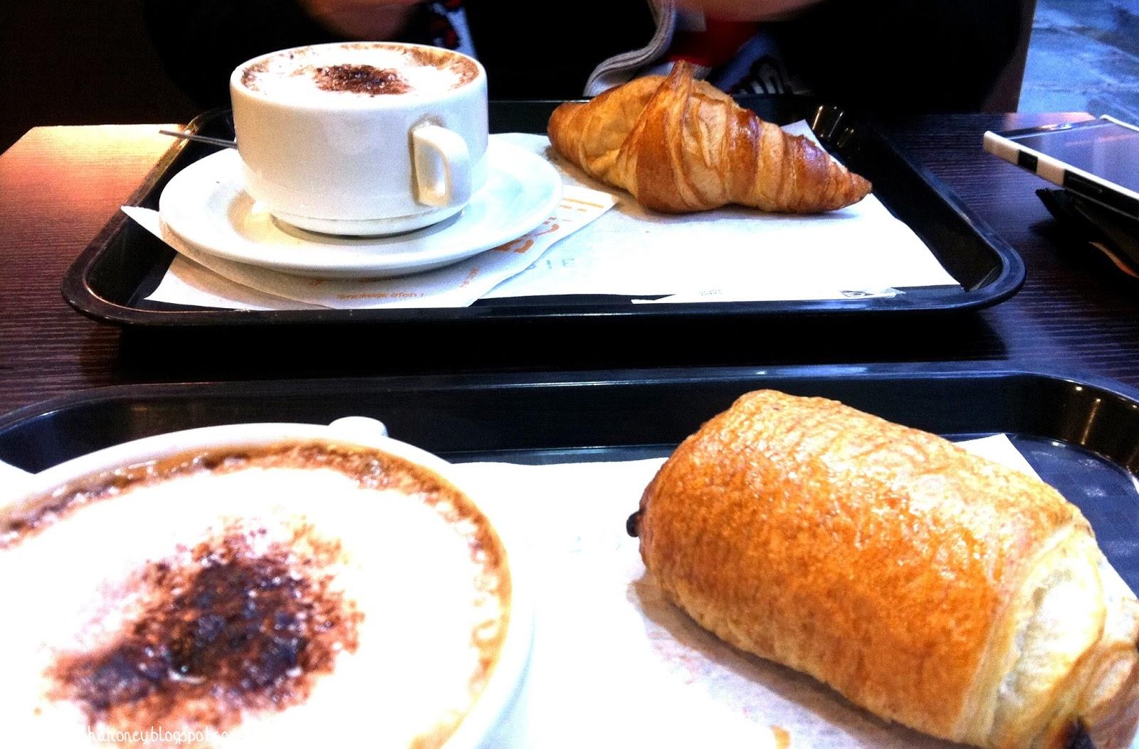 Comida em Paris