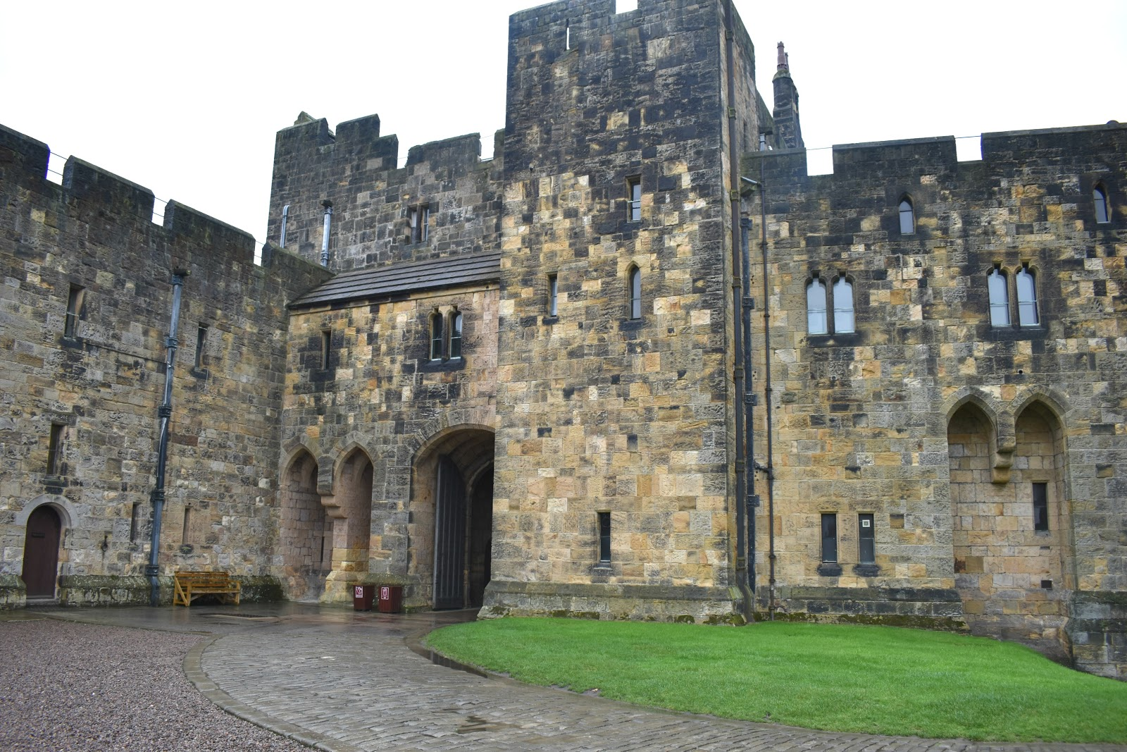 Alnwick Castle - Harry Potter Locations