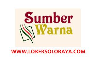 Loker Sukoharjo Terbaru Juni 2020 di CV Sumber Warna