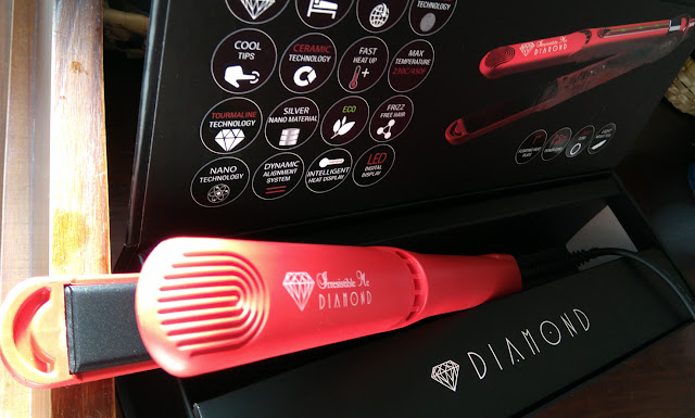 Diamond-hair-straightener