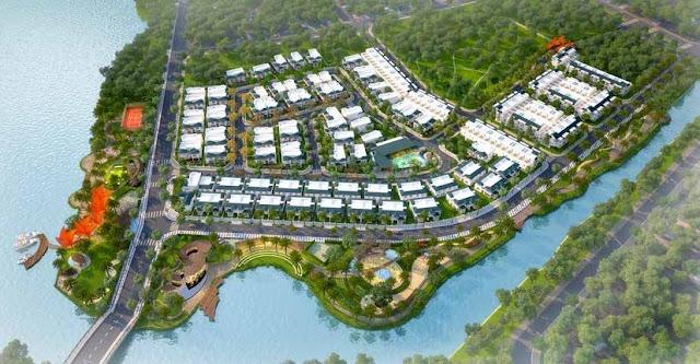 Tiện ích dự án khu biệt thự được đầu tư chuyên nghiệp.