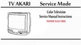 Service Mode TV AKARI Berbagai Type
