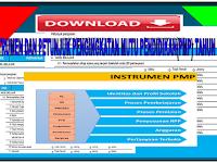 Instrumen dan Petunjuk pengisian kuisioner  Peningkatan Mutu Pendidikan (PMP) Tahun 2017
