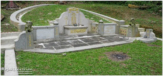 Wee Teow Cheng's tomb