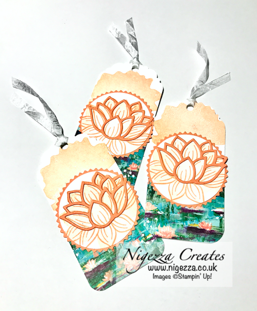 Nigezza Creates with Stampin' Up! Lily Pad Dies Lily Impressions