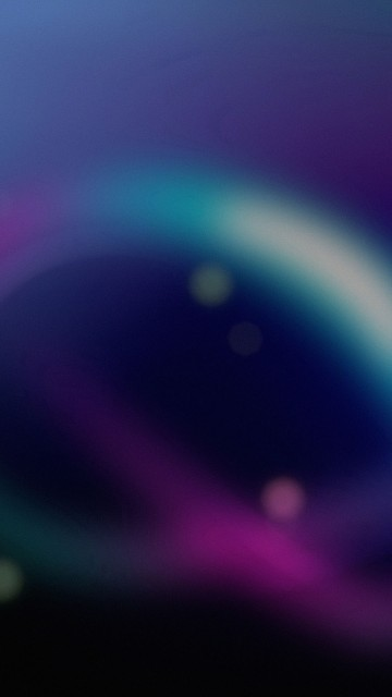 Blue Purple Blurry Lines Wallpaper for Android