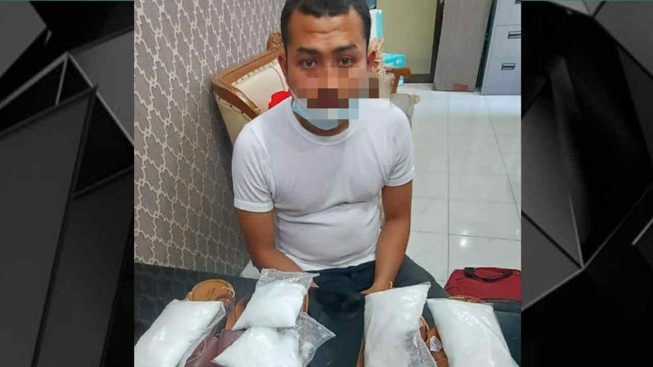 Ditres Narkoba Polda Sumut Berhasil Ungkap Pengedar Sabu Jaringan Antar Provinsi Seberat 950 Gram