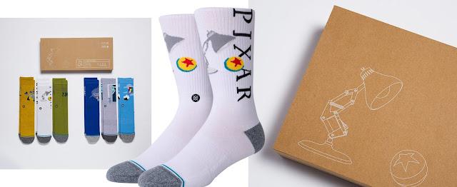 Big Box of Seven Pixar Socks