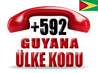 +592 Guyana ülke telefon kodu