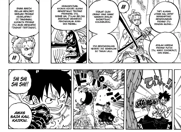 OP 956 I Review One Piece 955 Lengkap