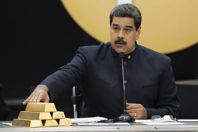 Defectos de Venezuela en canje de oro con Deutsche Bank