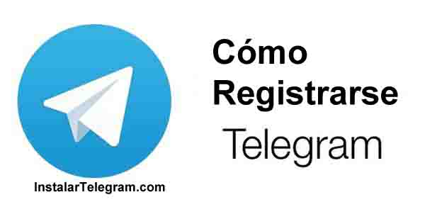como registrarse en telegram