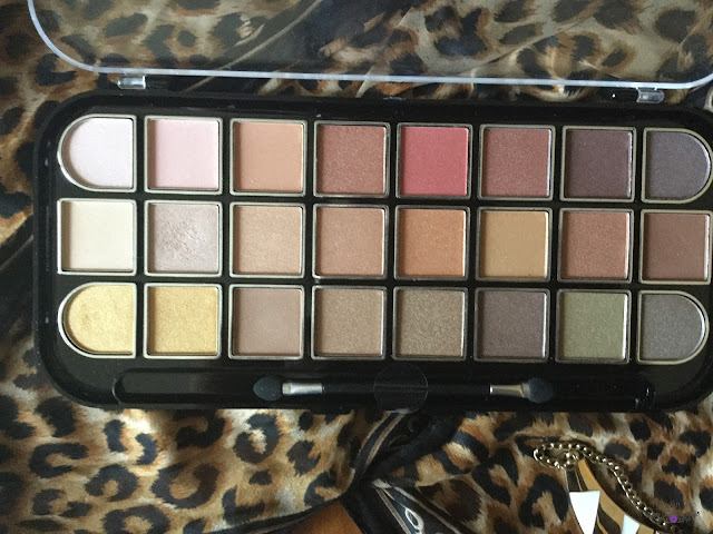 Kleancolor Neutrals Warm Palette Review