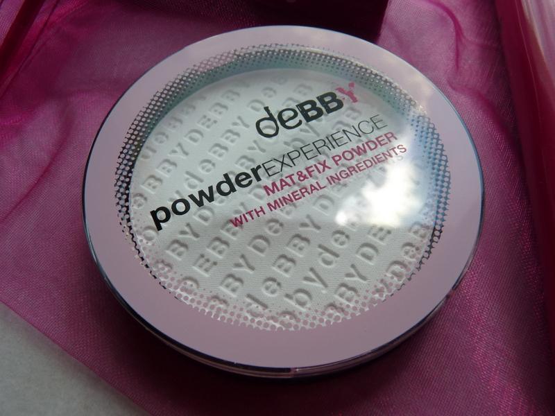 Debby Powder Experience Mat & Fix - Puder transparentny z minerałami w kompakcie