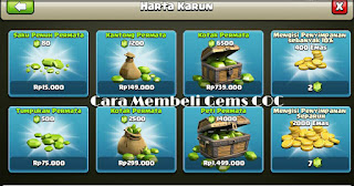 Beli gems clash of clans