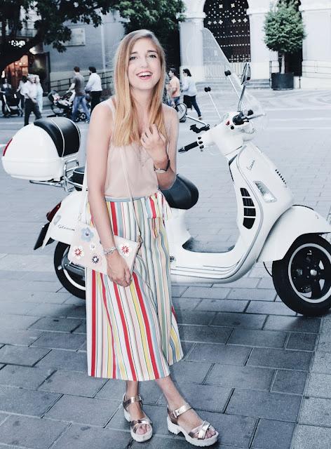 Pantalones colores Zara