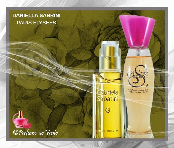 Perfume DANIELLA SABRINI Paris Elysees, Contratipo do Perfume Gabriela Sabatini