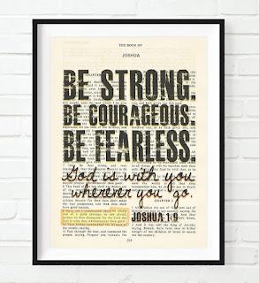 Joshua 1:9 Print