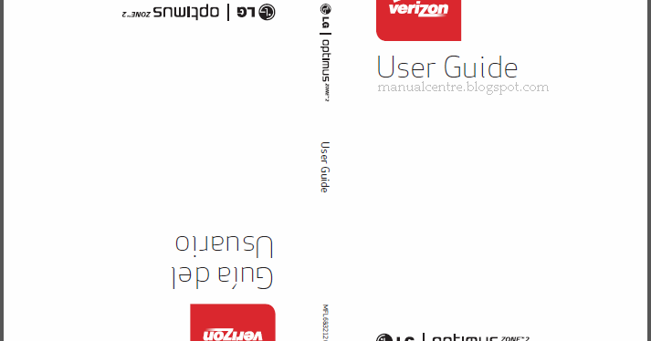 LG Optimus Zone 2 Manual PDF Download (LG VS415PP