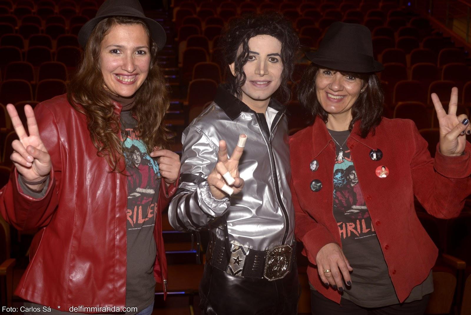 Delfim Miranda - Michael Jackson Tribute - After the show with M.J. fans