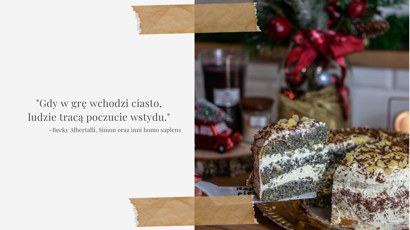 4 przepis na idealny tort z makiem lekki puszysty biszkopt z kremem i dzemem latwy zawsze wychodzi bez rzucania wysoki jak przeciac biszkopt