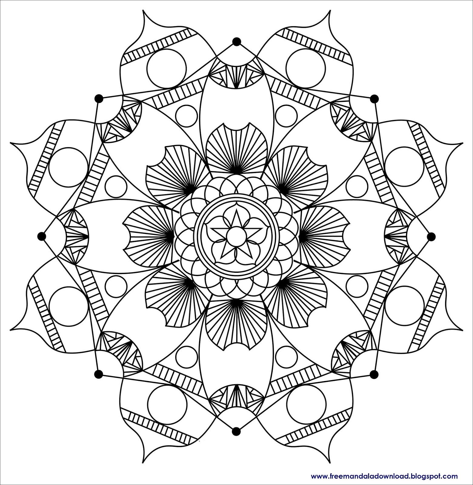 zen  antistress mandalas malvorlagenmandala zum drucken