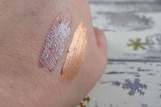 Urban Decay Liquid Moondust Eyeshadow Swatch