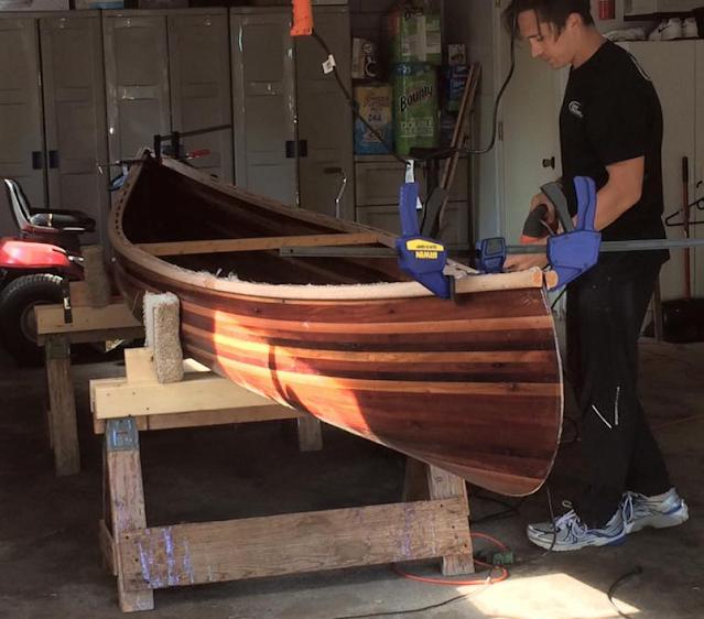 Canoe #03 Gunwales