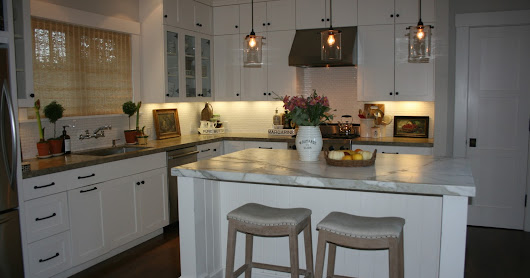 New Pendant Lights In The Kitchen