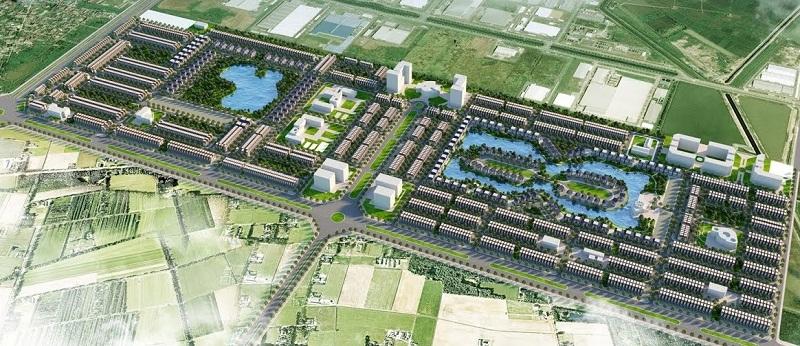 Quần thể dự án V-GREEN CITY Phố Nối, Hưng Yên