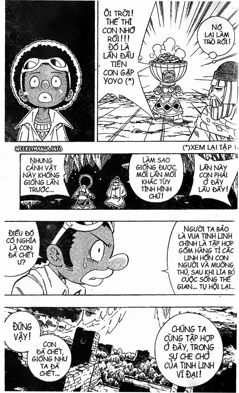 Shaman King [Vua pháp thuật] chap 194 trang 17